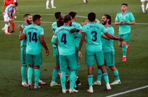 El Real Madrid tiene el marcador en contra.