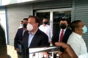 El exmandatario Juan Carlos Varela es investigado por la Fiscalía Especial Anticorrupción.