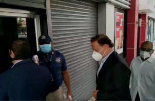 Juan Carlos Varela rinde indagatoria por caso Odebrecht.