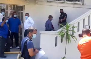 Miembros de Sintrapacasipa acudieron a la Procuraduría General de la Nación a interponer la querella penal.