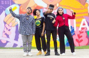 El proyecto 'CONVI32' es liderado por jóvenes panameños. Foto: Cortesía