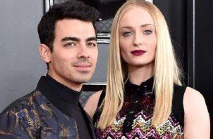 Joe Jonas y esposa Sophie Turner. Fotos: Instagram/Internet