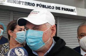El expresidente Ricardo Martinelli ha denunciado ser blanco de atropello y persecución política.