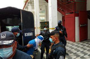 """Desde su detención, """"""""Reycito"""" estuvo en las instalaciones de la Policía Nacional en Colón."""