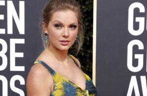 """Taylor Swift anunció el lanzamiento de """"Folklore"""" en sus redes sociales. Foto: EFE"""