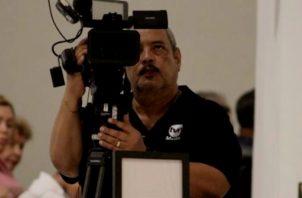 Fallece camarógrafo Eduardo Contreras. Foto Redes