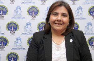 Ruth Morcillo, fiscal anticorrupción del Ministerio Público.