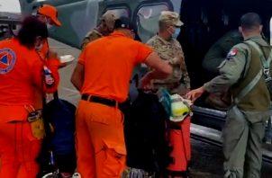 Río arrastra vivienda en Calovébora causando la muerte de 11 miembros de una familia.