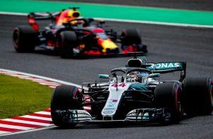 El piloto británico Lewis Hamilton. Foto:EFE