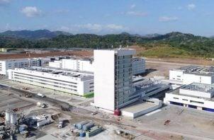 El proyecto hospitalario Ciudad de la Salud está ubicado en el antiguo Campo de Antenas en Clayton, corregimiento de Ancón.