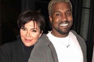 """""""Kanye está convencido de que la madre de Kim, Kris, se lo ha ganado"""", reveló una fuente cercana a la familia. Foto: Archivo"""