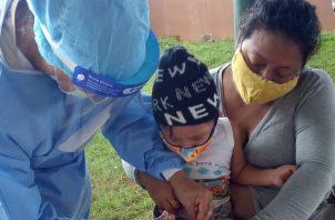 La vacunación es el método más efectivo para prevenir enfermedades y exhortó a la comunidad, a acudir al llamado.