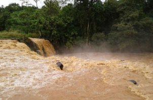 La cuenca del Río Caimito es una de las principales fuentes hídricas. Foto: Archivo