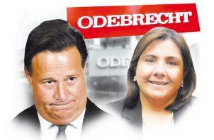 Juan Carlos Varela y Ruth Morcillo.