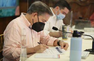 Laurentino Cortizo pidió cautela a la población en esta fase de la pandemia.