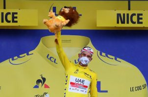 El ciclista del Emirates superó en la primera carrera al danés Mads Pedersen.