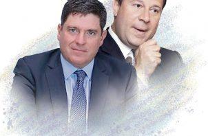 Carlos Duboy y Juan Carlos Varela.