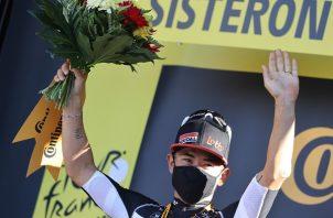 Cadel Ewan se ganó la tercera etapa. Foto: EFE
