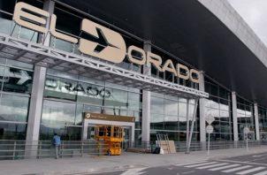 Aeropuerto El Dorado de Bogotá, el principal de Colombia. EFE