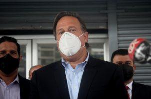 Juan Carlos Varela, expresidente de Panamá.