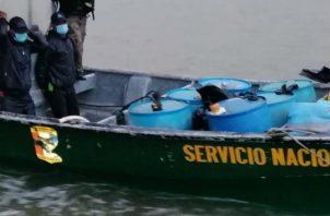 La captura se produjo mediante acciones de patrullajes de playas. Fotos: Cortesía.