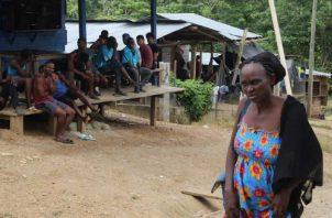 Muchas de las personas que solicitan refugio en Panamá entran al país por la provincia de Darién. Archivo