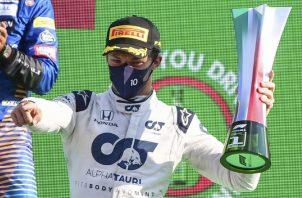 Pierre Gasly había sido relegado la temporada pasada de Red Bull, al 'equipo nodriza', Toro Rosso -rebautizado este año Alpha Tauri. EFE