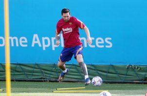 Messi. Foto:@FC Barcelona