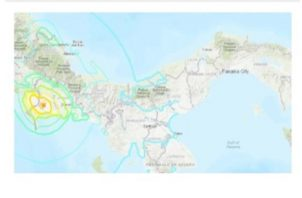 El mayor sismo de este mes tuvo magnitud de  5.8.