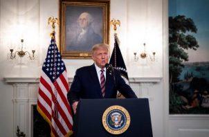 Durante toda su Presidencia, Trump se ha negado a creer que Moscú interfirió en las elecciones de 2016, algo que sostienen los servicios de inteligencia de EE.UU. y que Moscú niega. FOTO/EFE