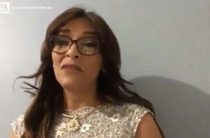 Kathya Sarina Miranda.