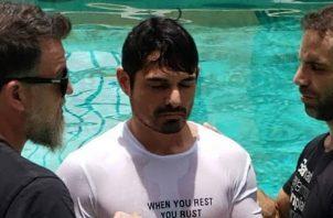 Hace una semana Robin Durán se bautizó. Foto: Instagram