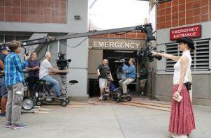 Grabaciones de la temporada número 16 de 'Grey's Anatomy'. Foto: Twitter