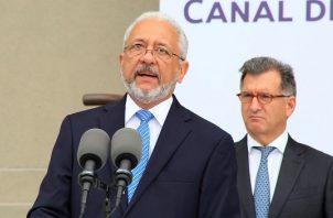 Ricauter Vásquez, administrador de la Autoridad del Canal de Panamá.