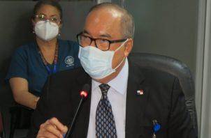 Enrique Lau sustentó ayer el presupuesto de la CSS para 2021.