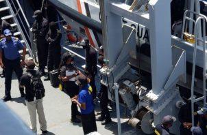 Ocho marinos panameños, seis de ellos con COVID-19 se encuentran varados en Trinidad y Tobago. Foto Cortesía