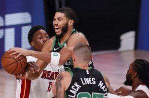 Los Celtics sacaron su mejor juego el viernes.