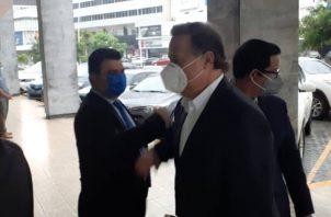 Esta es la quinta ocasión que Juan Carlos Varela es indagado en el Ministerio Público por el caso Odebrecht.