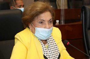 La diputada Mayín Correa fue la que presentó este proyecto de ley.