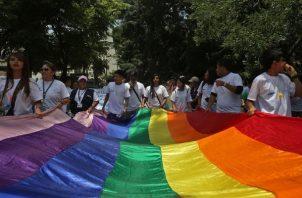 Audiencia sobre Matrimonio Igualitario en Panamá. Foto:EFE