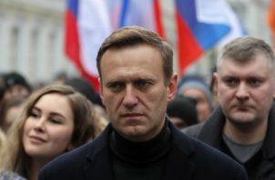Alexéi Navalni estuvo en coma en un hospital de Berlín y se ha recuperado en las últimas semanas. Foto: EFE.