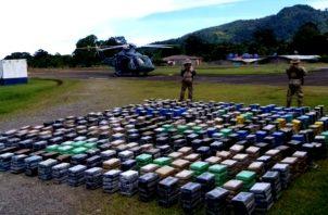 Droga en Isla Colón. Foto:Senan