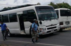 Fernando Jaén Rivas director Regional de la Attt en San Miguelito dijo que la Attt no ha autorizado a ningún conductor a aumentar el costo del pasaje y menos en medio de la pandemia de la COVID-19.