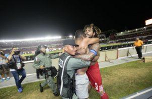Román Torres le dio la victoria a Panamá.