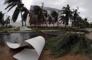 """""""El riesgo de catástrofe se ha convertido en algo sistémico, con unos desastres influyendo en otros de forma que nuestra resistencia está siendo llevada al límite""""."""