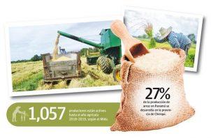 Los productores manifiestan su preocupación dado el atraso en los pagos de la compensación de $7.50 por quintal de arroz producido, compromiso que adquirió el gobierno como alivio del impacto causado por el programa de control de precios.