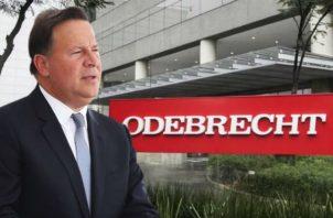 Juan Carlos Varela, es señalado por haber recibido altas sumas de dinero de la constructora Odebrecht.