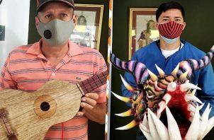 Artesanos de Azuero donaron artículos para apoyar al doctor Carlos Mendoza Gobea.