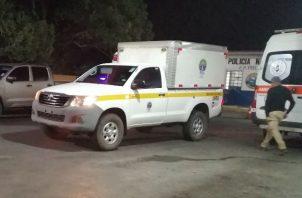 La Policía Nacional mantiene operativos de búsqueda del agresor. Foto: Eric A. Montenegro.