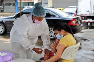 Vacunación de menores